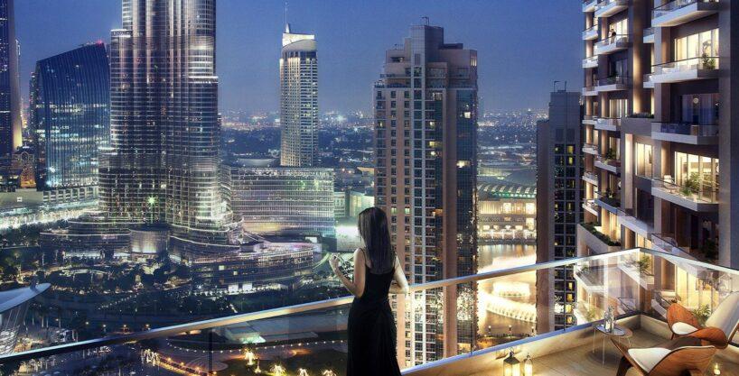 2 Bed, Burj Khalifa View